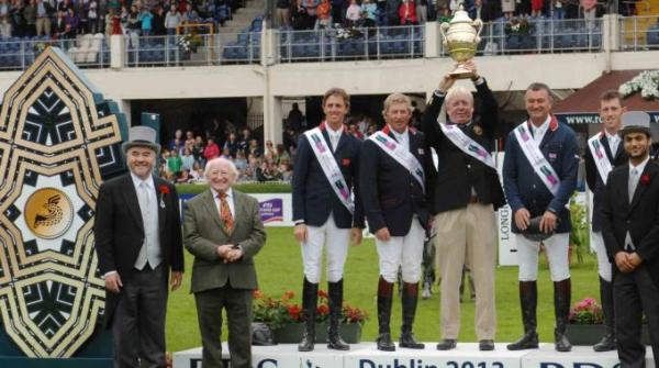 British team wins Furusiyya FEI Nations Cup Jumping in Dublin