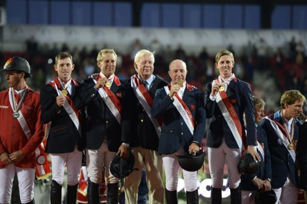 OLYMPIC CHAMPIONS FROM GREAT BRITIAN CLAIM EUROPEAN TEAM TITLE